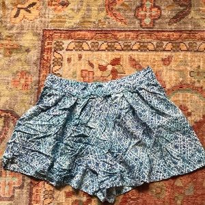 Bethany Mota floral shorts. Medium